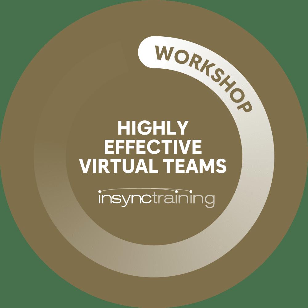 highly effective virtual teams
